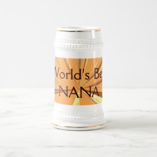 Worlds Best Nana Beer Stein