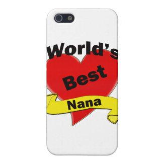 World's Best Nana Case For iPhone SE/5/5s