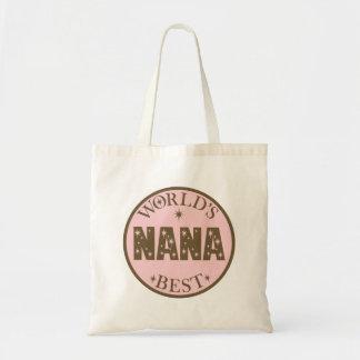Worlds Best Nana Gift Tote Bag