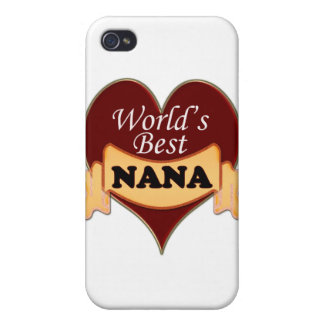 World's Best Nana iPhone 4/4S Cover