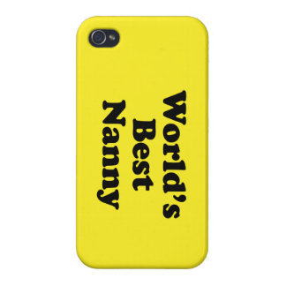 World's Best Nanny iPhone 4/4S Cases