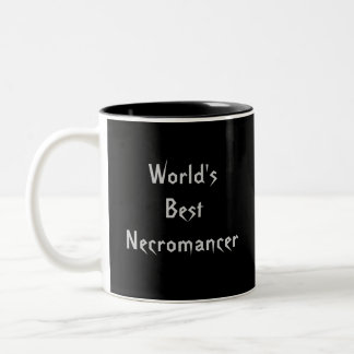World's Best Necromancer Two-Tone Coffee Mug