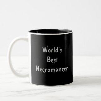 World's Best Necromancer Two-Tone Coffee Mug