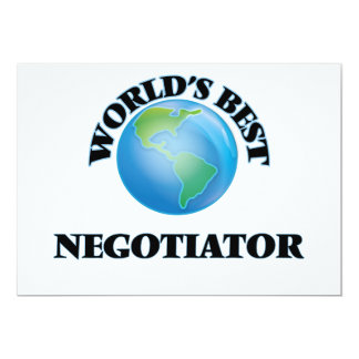 World's Best Negotiator Cards
