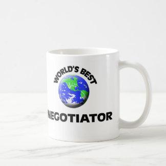 World's Best Negotiator Classic White Coffee Mug