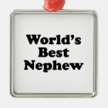 World's Best Nephew Ornaments