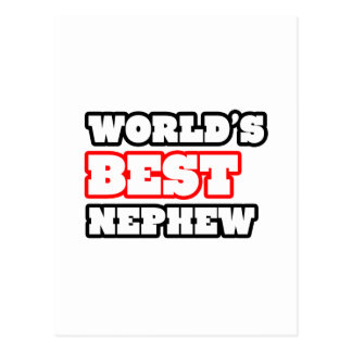 World's Best Nephew Postcard