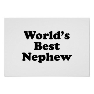 World's Best Nephew Print