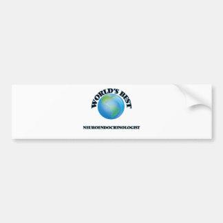 World's Best Neuroendocrinologist Car Bumper Sticker