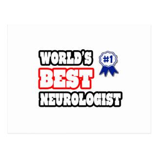 World's Best Neurologist Postcard