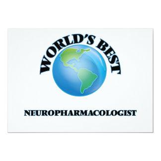 World's Best Neuropharmacologist Card
