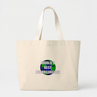 World's Best Neurosurgeon Large Tote Bag