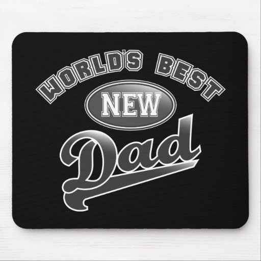 World's Best New Dad Mouse Pad