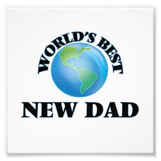 World's Best New Dad Photo Print