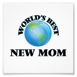 World's Best New Mom Photo Print