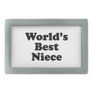 World's  Best Niece Belt Buckles