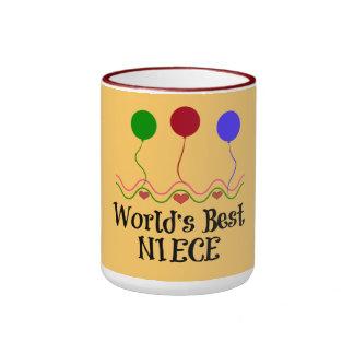 World's Best Niece Ringer Mug