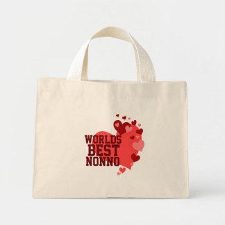 Worlds Best Nonno Personalized Mini Tote Bag