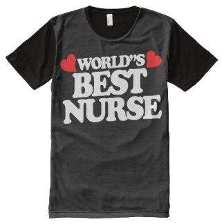 World's Best Nurse All-Over Print Shirt