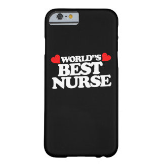 World's Best Nurse Barely There iPhone 6 Case