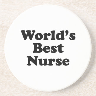 World's Best Nurse Beverage Coasters