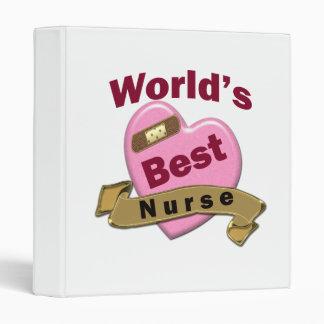 World's Best Nurse Binder