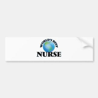 World's Best Nurse Bumper Stickers
