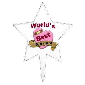 World's Best Nurse Cake Topper