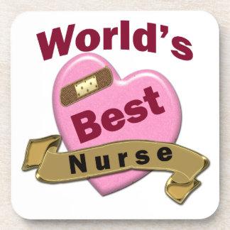 World's Best Nurse Coaster