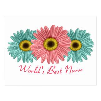 World's Best Nurse Postcard