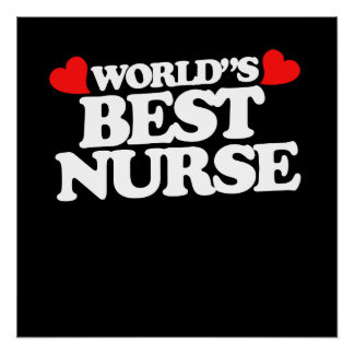 World's Best Nurse Poster