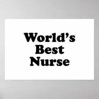 World's Best Nurse Poster