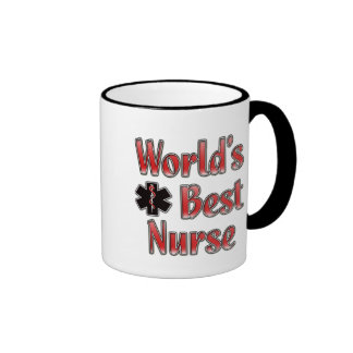 World's Best Nurse Ringer Mug