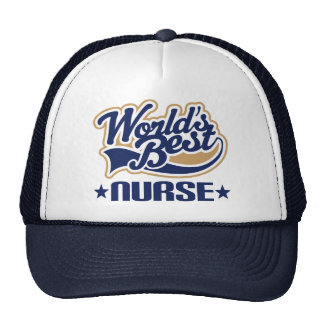 Worlds Best Nurse Trucker Hat
