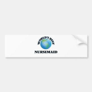 World's Best Nursemaid Bumper Sticker