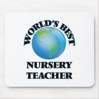 World's Best Nursery Teacher Mouse Pad