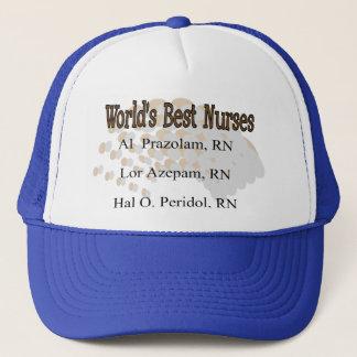 """World's Best Nurses"" --Hilarious Nurse Gifts Trucker Hat"
