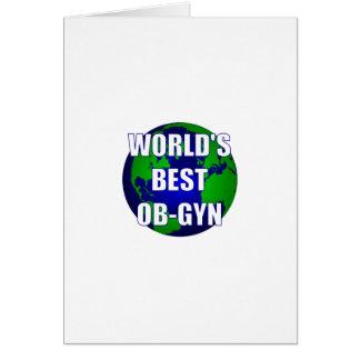 World's Best OB-GYN Card