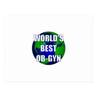 World's Best OB-GYN Postcard