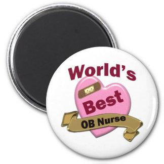 World's Best OB Nurse Magnet