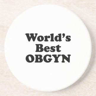 World's Best OBGYN Coaster