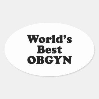 World's Best OBGYN Sticker