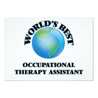 World's Best Occupational Therapy Assistant Card