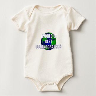 World's Best Oceanographer Baby Bodysuit