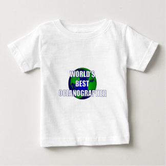 World's Best Oceanographer Baby T-Shirt