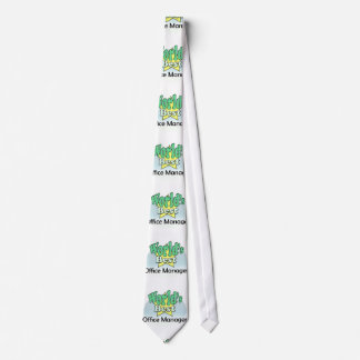 World's best Office manager Tie