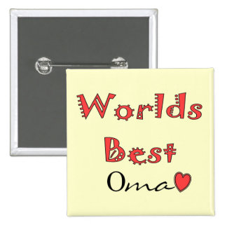 Worlds Best Oma--Mother's Day Gifts Button