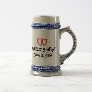 World's Best Oma & Opa Gift Mug