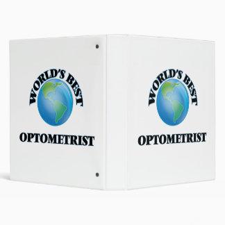 World's Best Optometrist Binder