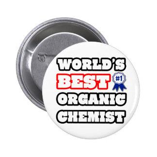 World's Best Organic Chemist Button